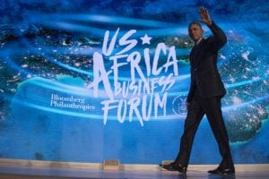 US President Barack Obama attends the US-Africa Business Forum in New York on September 21, 2016. Photo: AFP/JIM WATSON
