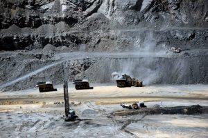 View of the Jwaneng diamond mine in Botswana in October 2016. Photo: AFP/MONIRUL BHUIYAN