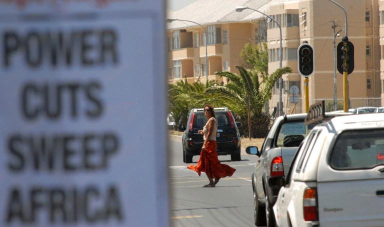 South Africa's Medupi power station photographed in 2011. Photo: AFP/Alexander Joe