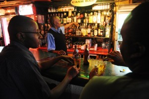 Kenyans drink at a club in Nairobi in this December 2010 file picture. Photo: AFP/Simon Maina