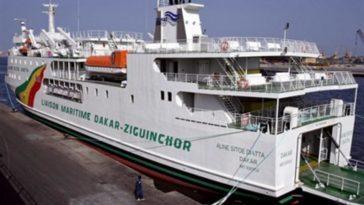 La liaison maritime Dakar-Ziguinchor permet à de nombreux touristes de se rendre en Casamance. Photo AFP.