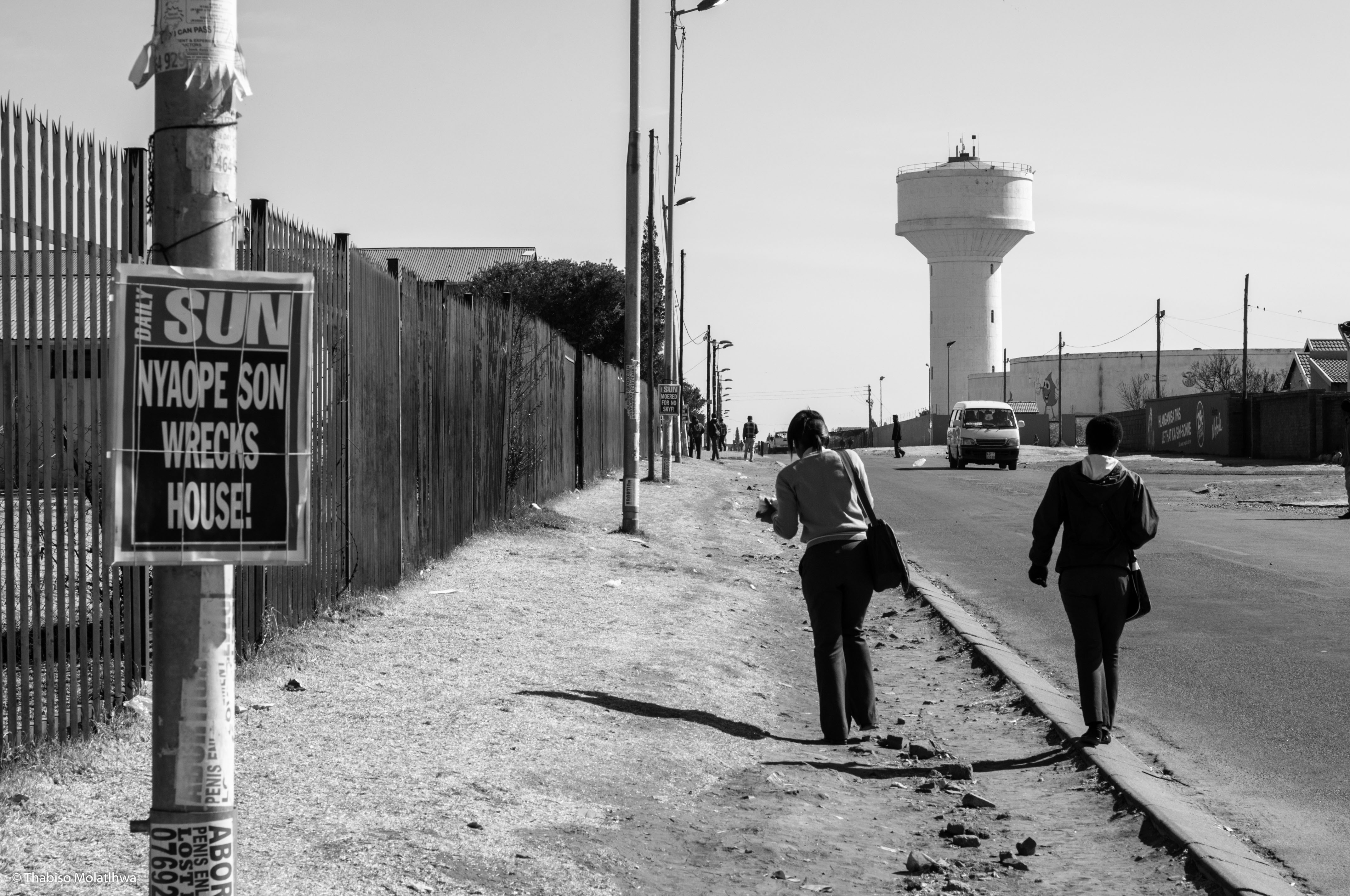 This image was taken by young photographers in the Livity Africa media training programme in South Africa.