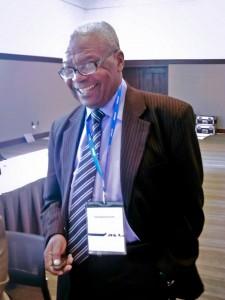 Donatien Mavoungou, le chercheur gabonais qui a inventé de l'Immunorex-DM28. Photo IIDSRI