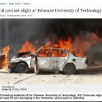 A screen grab of the TimesLive article and the photograph taken by Feisal Omar in Somalia
