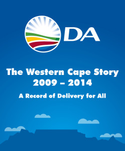 """A screen grab from the video released by the Democratic Alliance to mark the launch of its """"Western Cape Story"""" campaign"""