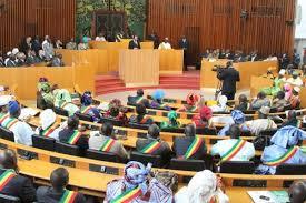 L'Assemblée nationale comptait 150 députés avant l'adoption de cette nouvelle loi. Photo AFP.
