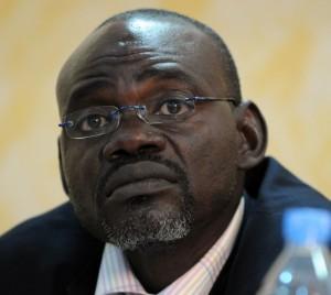 Clément Abaifouta, président de l'Association des victimes de la répression politique de Habré, a pratiqué l'urinothérapie en prison. Photo AFP