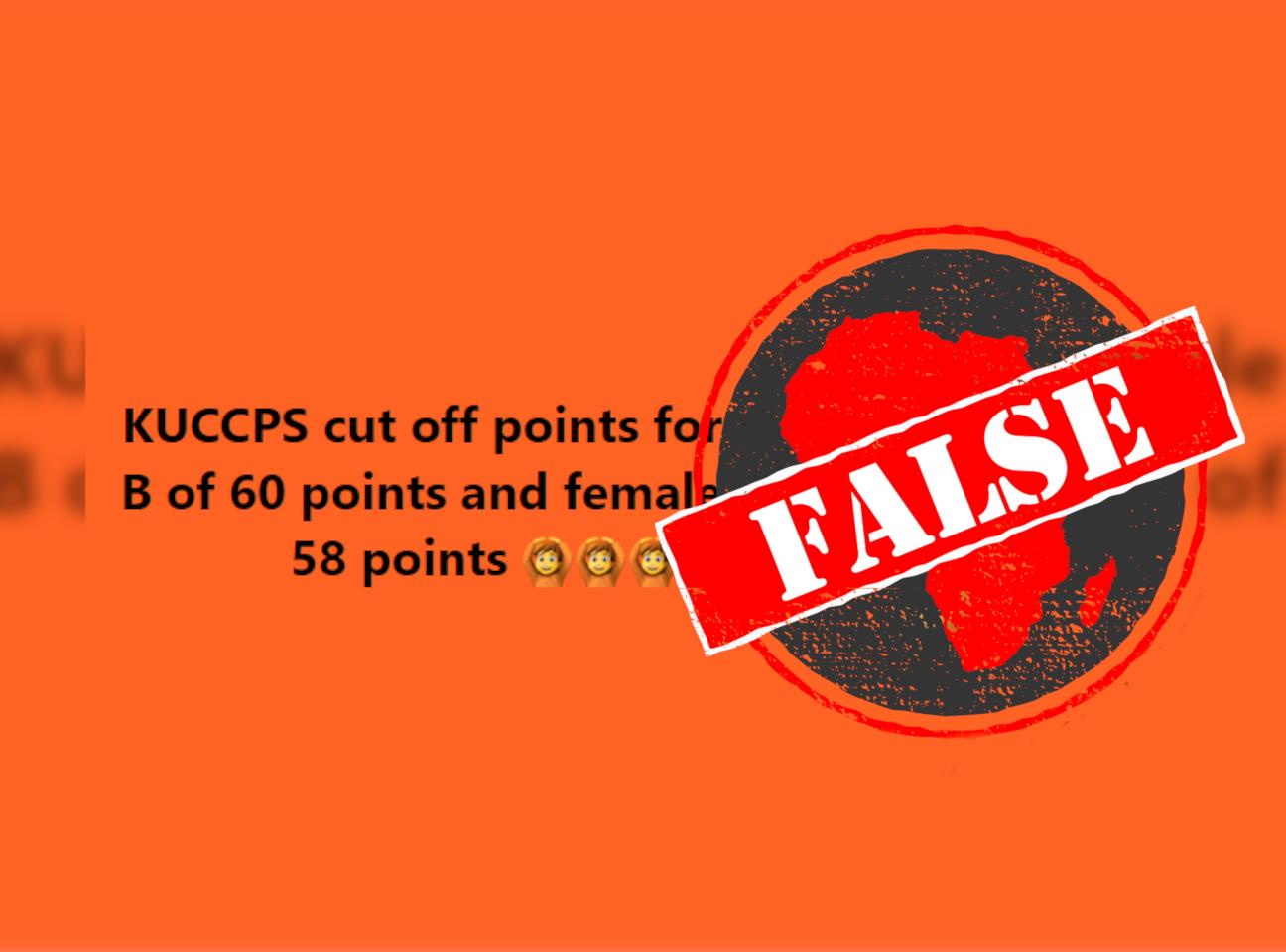 KUCCPS_False