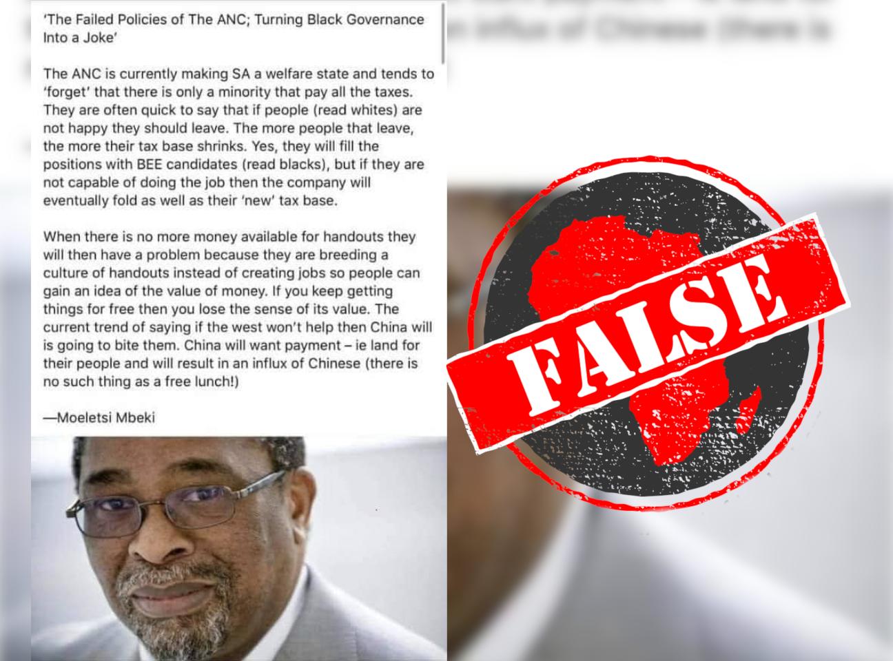 Mbeki_False