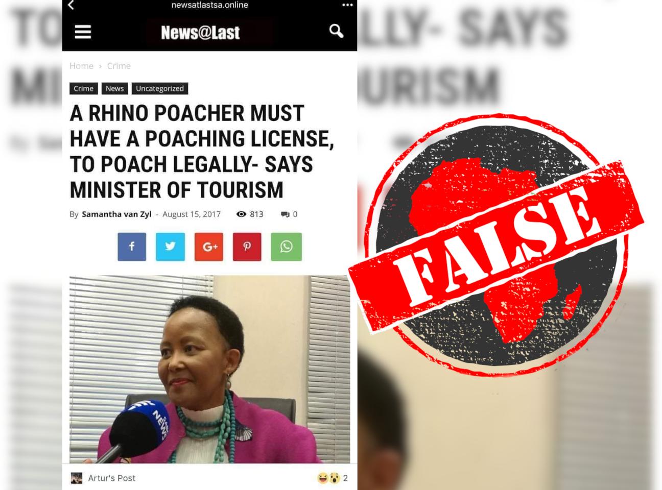 Poaching_False