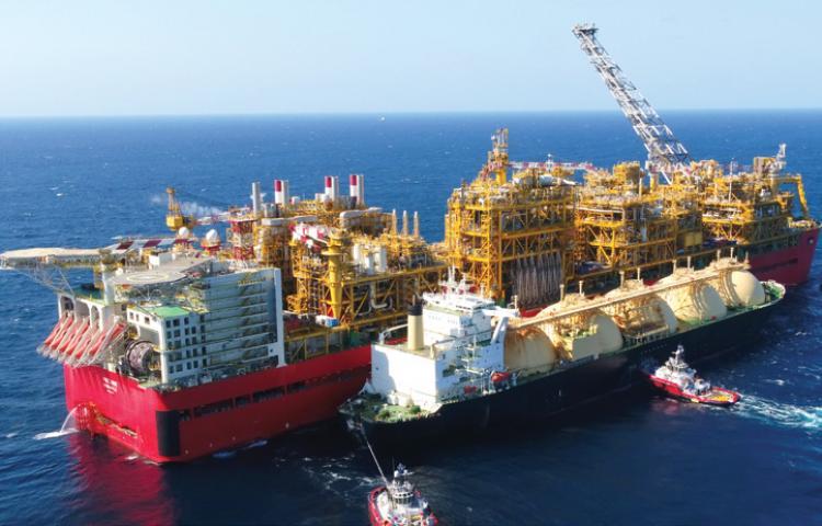 Prelude, plus grand navire au monde