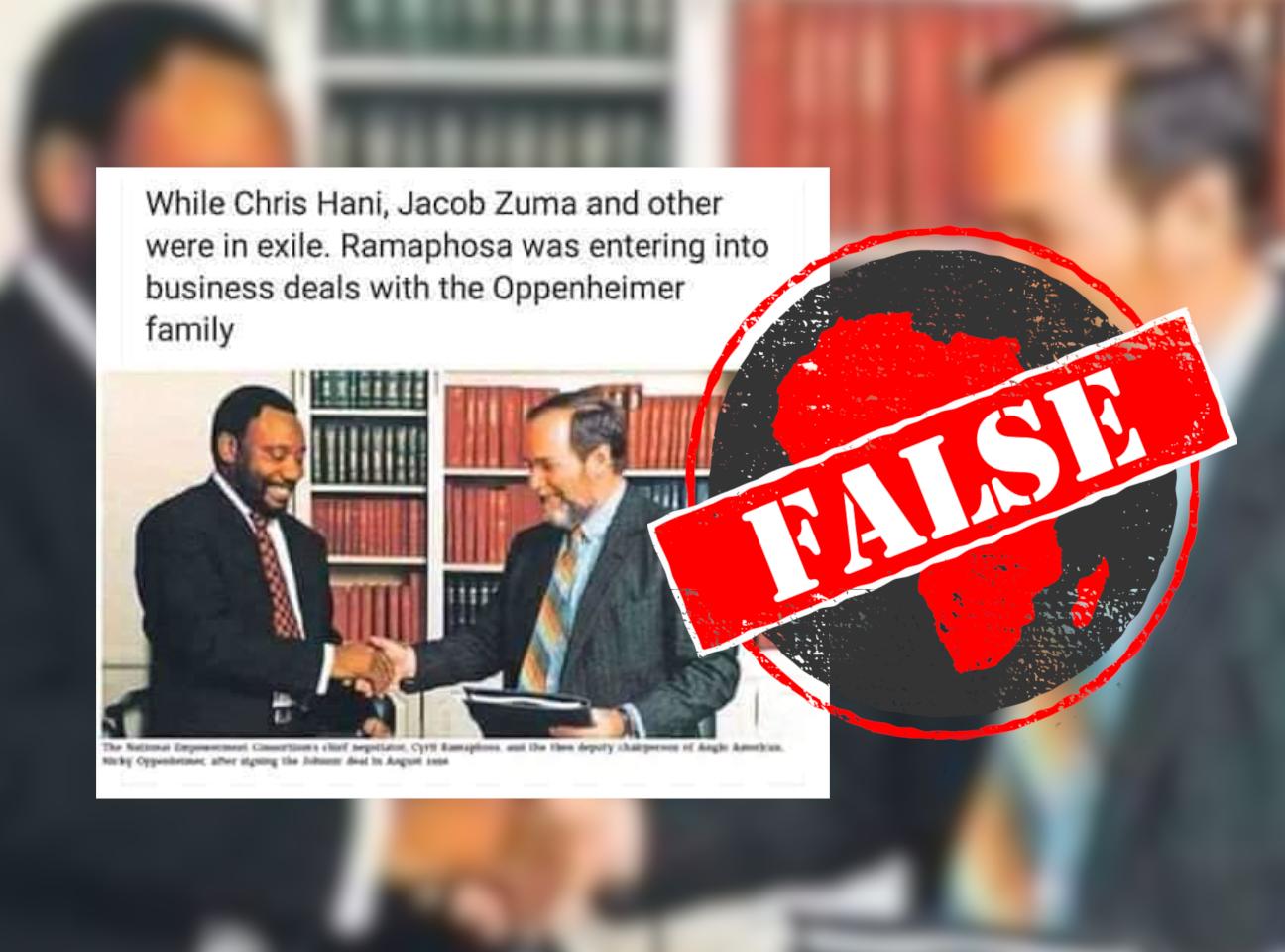 RamaphosaDeal_False