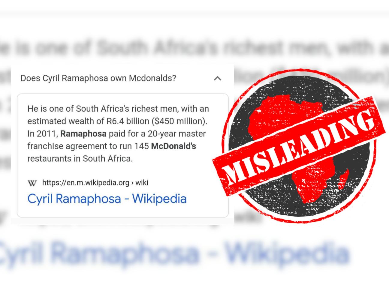 Ramaphosa_Misleading