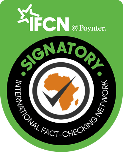 africa check ifcn signatory badge