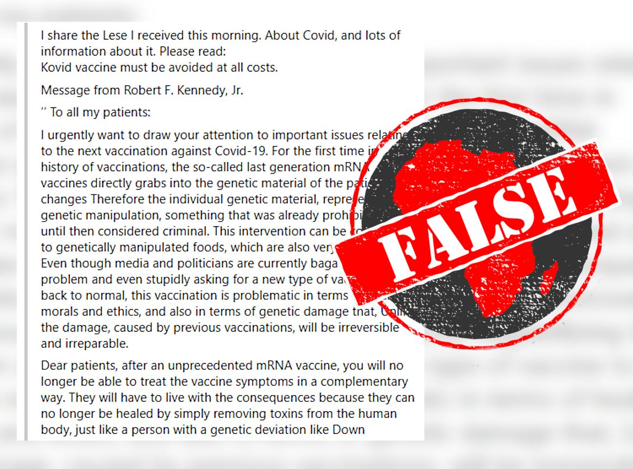 kennedy false
