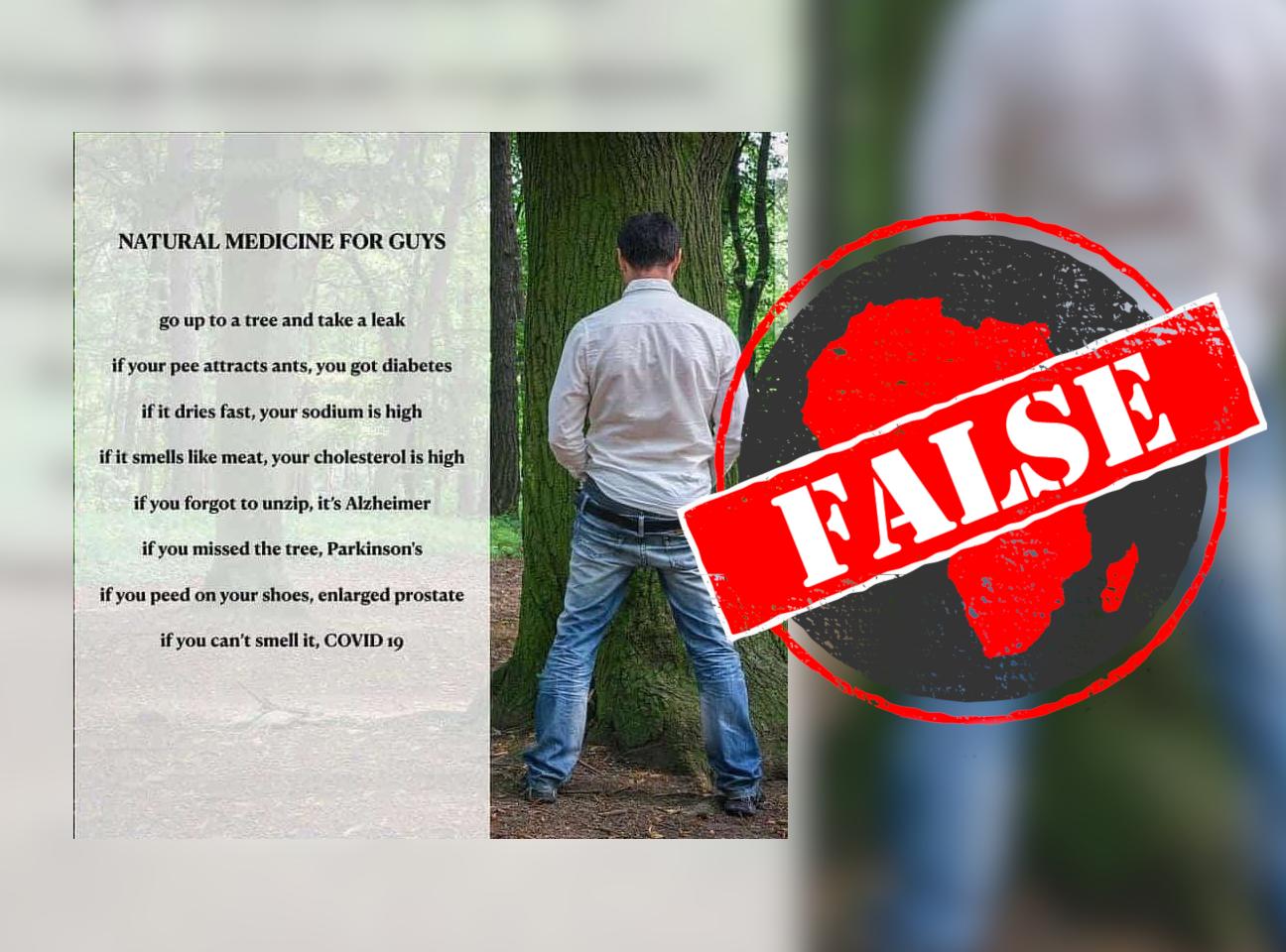 self diagnosis false
