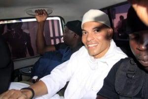 Karim Wade, fils de l'ancien Président Abdoulaye Wade, a été reconnu coupable d'enrichissement illicite. Il doit payer une amende de plus de 138 milliards FCFA. Photo AFP