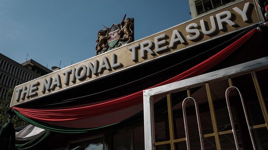 Kenya treasury building