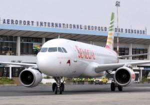 L'aéroport international Léopold Sédar Senghor de Dakar est l'un des points d'entrée des touristes au Sénégal. Photo AFP