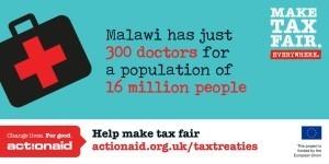 L'organisation internationale de lutte contre la pauvre ActionAid a posté ce tweet le 2 février 2016.