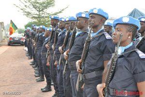 Un contingent de gendarmes sénégalais en partance pour le Congo. Photo MONUSCO;