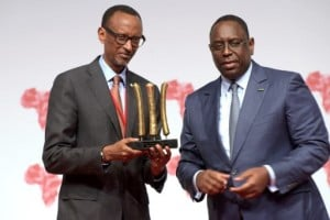 Les présidents Macky Sall et Paul Kagamé prônent un label scientifique en phase avec les priorités du continent. Photo AFP