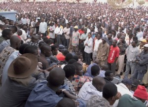 générale d'étudiants à l'UCAD qui est souvent secouée par des grèves. Photo AFP