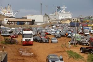 Lomé ne fait pas partie du top 10 africain des ports. Photo AFP