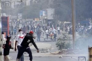 L'UCAD est souvent paralysée par les manifestations d'étudiants. Photo AFP