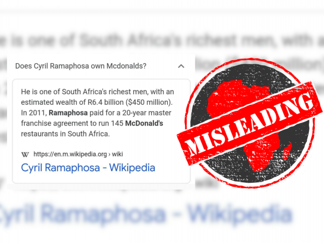 Ramaphosa_Misleading